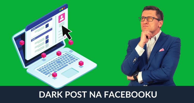 Dark post na facebooku
